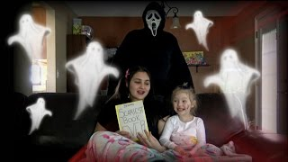 GHOST finds The TOYTASTIC Sisters! FUNNY SKIT. GHOST face sighting. Paranormal activity! thumbnail