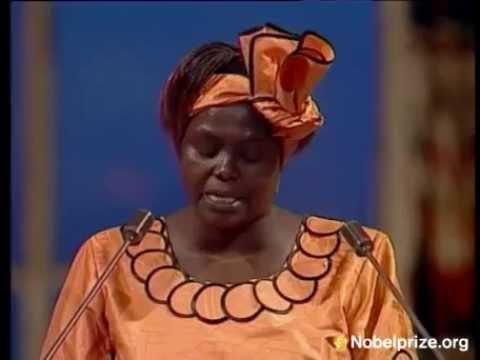 Nobel Lecture by Professor Wangari Maathai