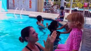 Уроки плавания для малышей