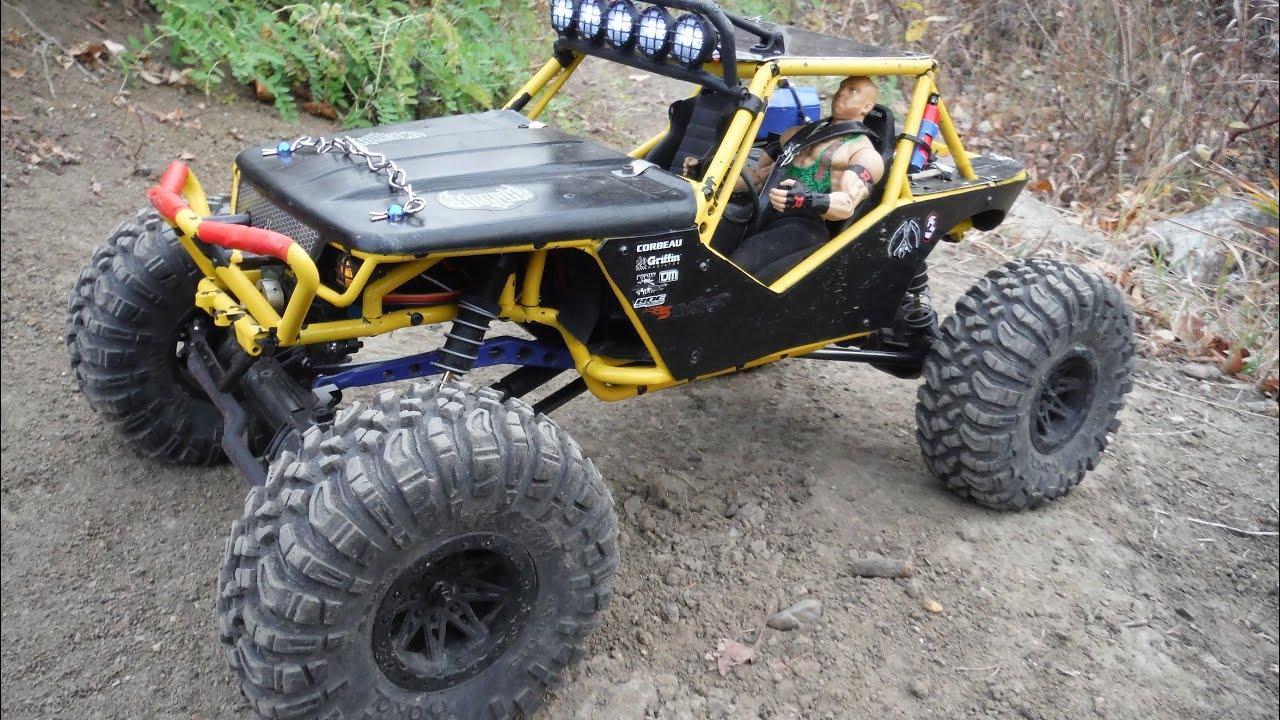 Axial R C : Rc trail ride axial wraith new lights youtube