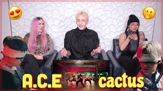 A.C.E(에이스) - 선인장(CACTUS) MV OFFICIAL REACTION!!! | NOT AT ALL WHAT WE EXPECTED |