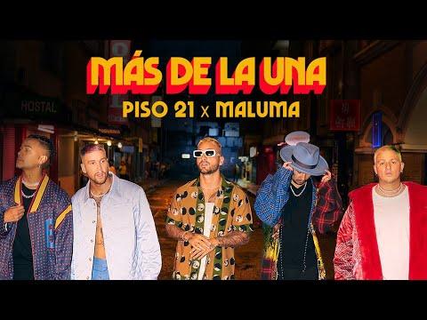Piso 21 & Maluma – Más De La Una (Video Oficial)
