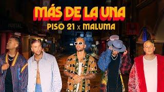 Смотреть клип Piso 21 & Maluma - Más De La Una