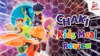 BoBoiBoy Galaxy - KFC CHAKI KIDS MEAL 💥REVIEW💥
