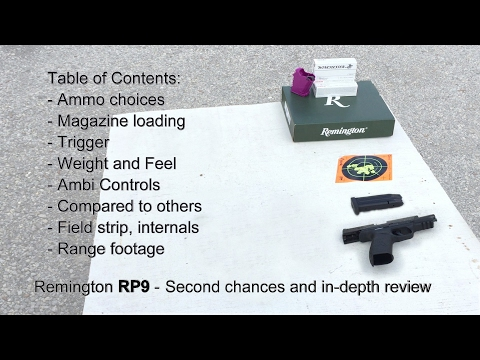 Remington RP9 - second chance and in depth review