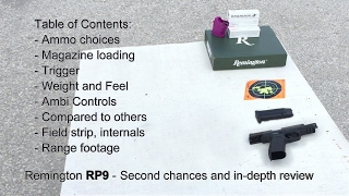 Remington RP9 - second chance and in depth review | ResponsibleCitizen64
