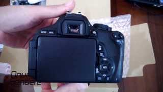 Canon EOS 600D Rebel t3i Kutu Açılışı - Unboxing -