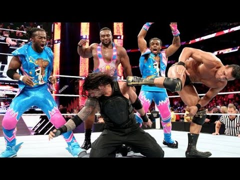 Thumbnail: Roman Reigns Vs all superstars OneVsAll on WWE Raw on 11 01 21016
