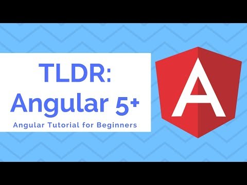 TLDR Angular | Angular Tutorial for Beginners