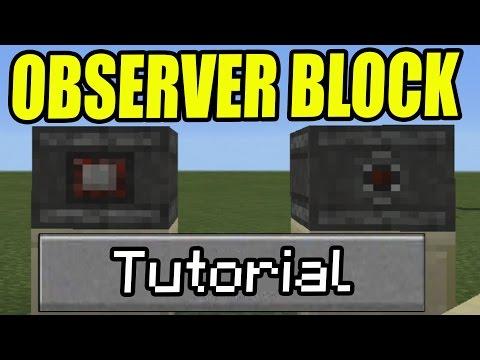 Using the Observer Block | MinerStuff