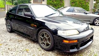 1989 Honda CR-X SiR EF8 (USA Import) Japan Auction Purchase Review