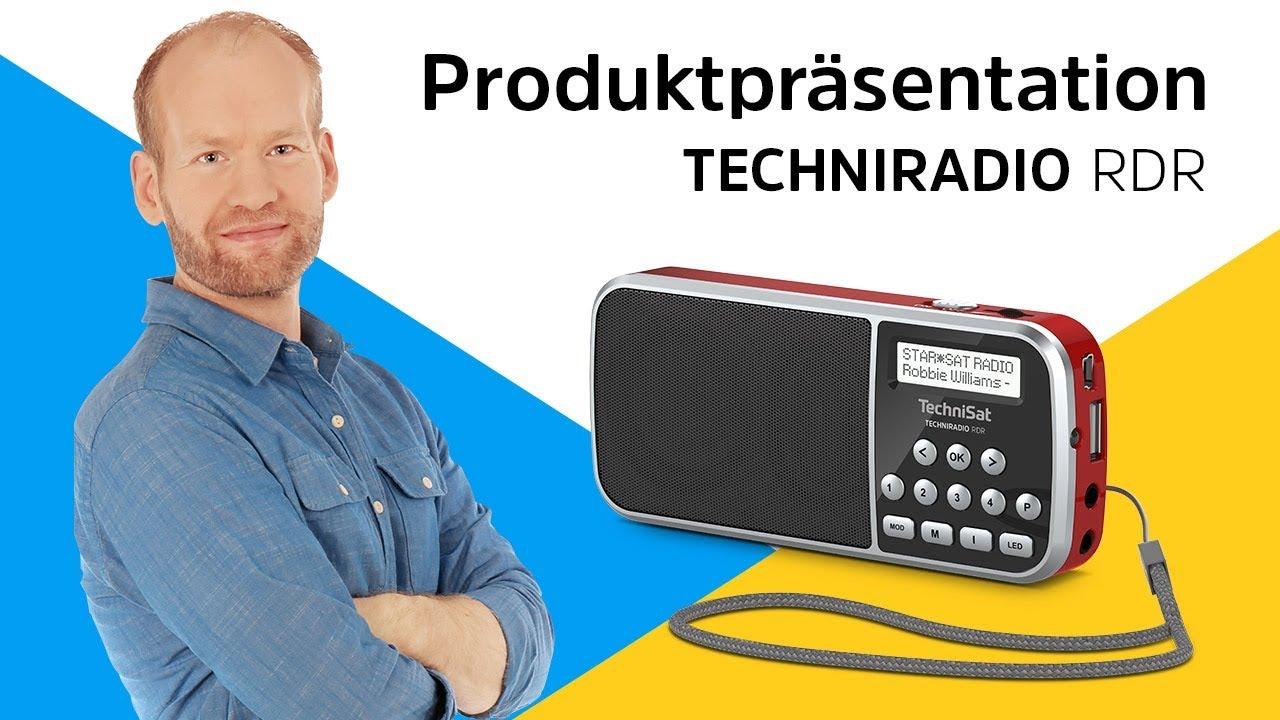 Video: TECHNIRADIO RDR | DAB+ im Hosentaschenformat. | TechniSat