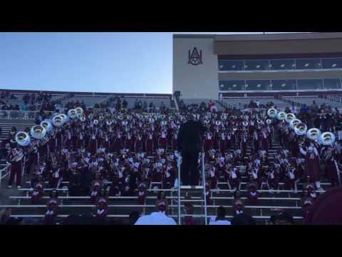 AAMU Band vs Alcorn 2016