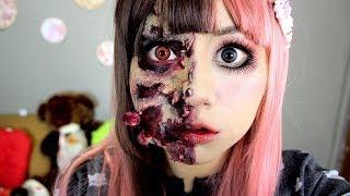 maquillaje Zombie ♥ Miku, muñeca zombie thumbnail