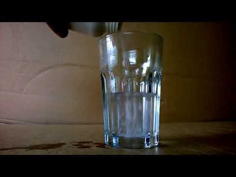 how to clean sodiumk hydroxide