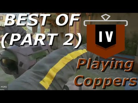 Best Of Road To Copper! Chaotic Compilation Part 2 - Rainbow Six Siege Funny Moments