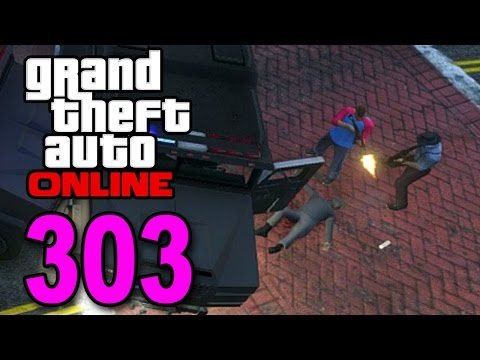 Grand Theft Auto 5 Multiplayer - Part 303 - Cops vs Robbers! (GTA Online Gameplay)