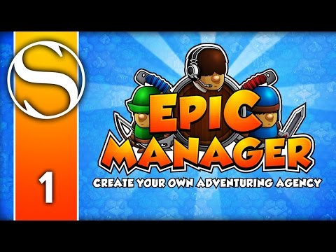 EPIC MANAGER - Let's Play Epic Manager / Epic Manager Gameplay - Part 1