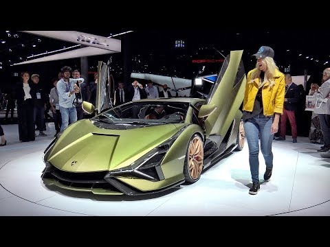 Lamborghini Sian – The Most Powerful Lamborghini Ever Made