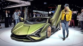Lamborghini Sian - The Most Powerful Lamborghini Ever Made