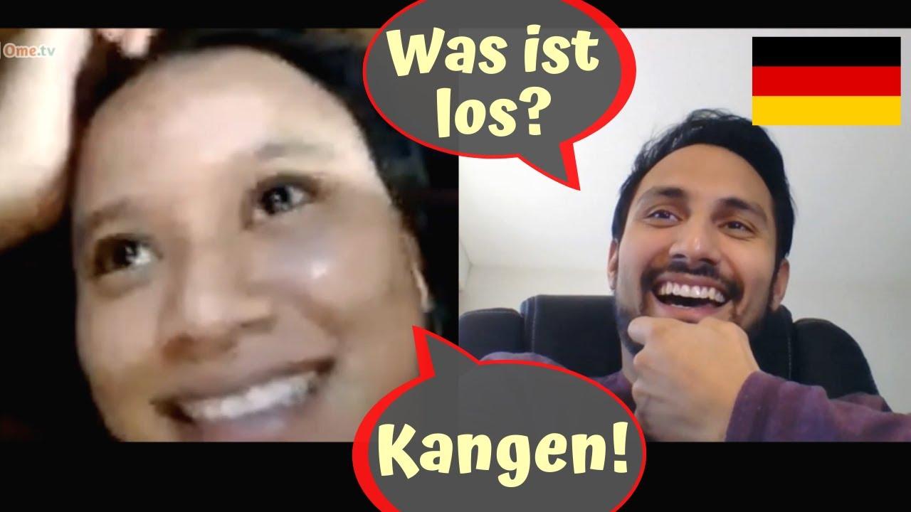 Gagal ngeprank dengan bahasa Jerman di OME.TV