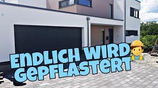 Nach 3 Jahren - es wird gepflastert!| ACO Schlitzrinne| Garageneinfahrt pflastern| Die Siwuchins