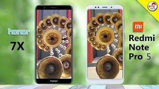 Honor 7X vs Redmi Note 5 Pro Camera Comparison   Tamil Tech