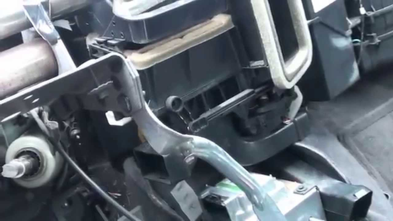 300 M Air conditioner evaporator replacement  showing dash removal  YouTube