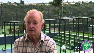 Rod Laver chats about the Wimbledon grass