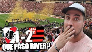 River Vs Flamengo | FINAL Copa Libertadores 2019 | Reacción en Estadio