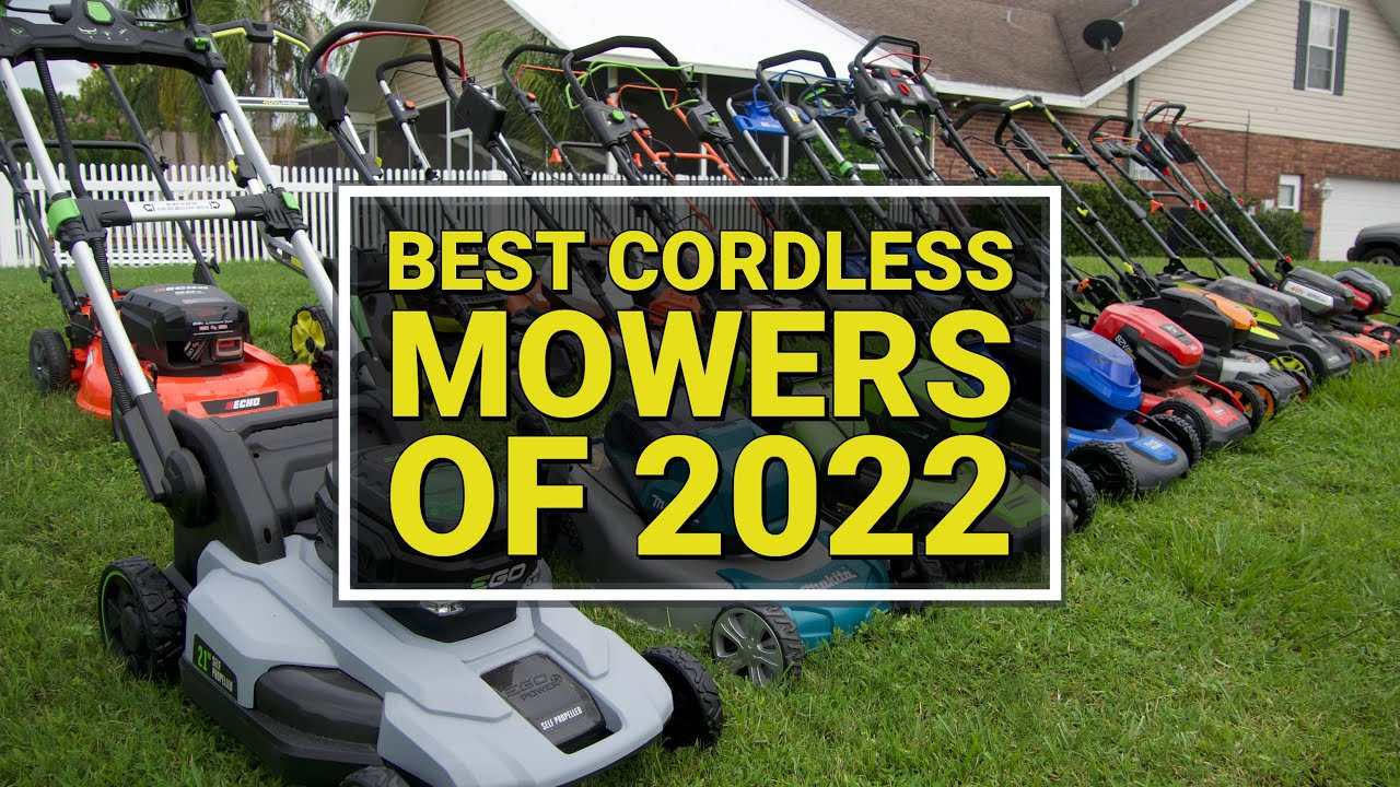 Best Cordless Lawn Mower 2020.Best Battery Lawnmower And Gas Mower Head To Head 24 Models Tested