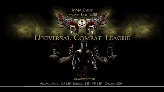 Universal Combat League Live Stream