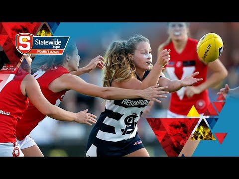 RD 6 SANFL Statewide Super Women\'s League - South v North