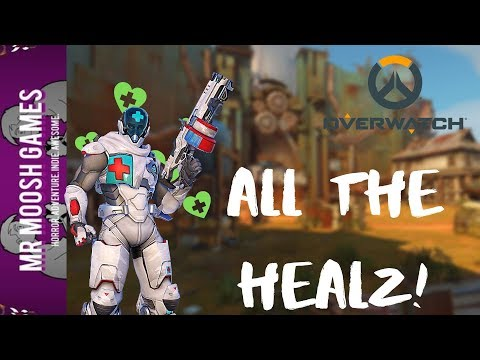 All the Healz with Baptiste!- Overwatch Gameplay *No Commentary