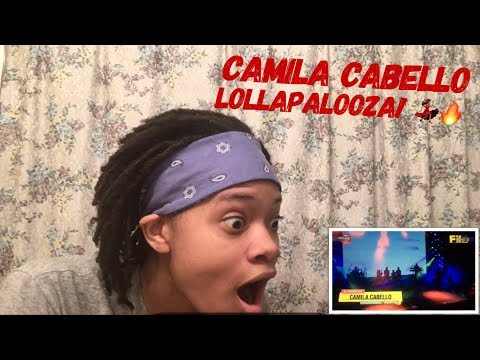 Camila Cabello Performing At Lollapalooza Argentina 2018 (REACTION)