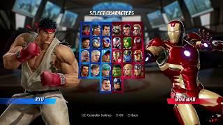 Marvel Vs Capcom Infinite - Vs Fighting 2017 Part 3