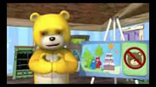 Naughty bear - iPhone Naughty bear pocket edition