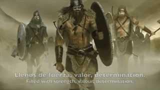 Ensiferum - Heathen horde (Lyrics + Sub. Español)