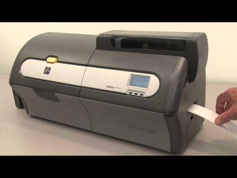 Cleaning Card Path in the Zebra ZXP Series Card Printer