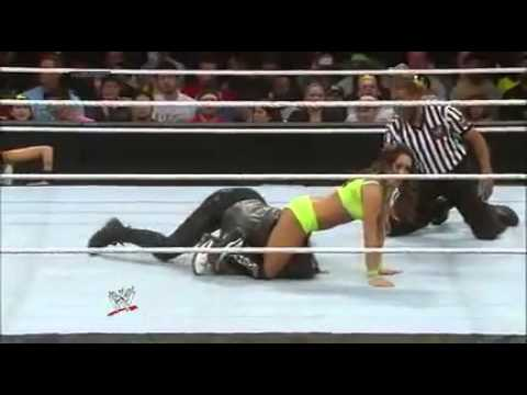 Nikki bella vs aj lee tlc 2014 - 2 2