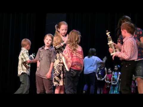 2012 Idaho Open Fiddle Contest ~ Nampa, Idaho ~Small Fry Intermediate Awards