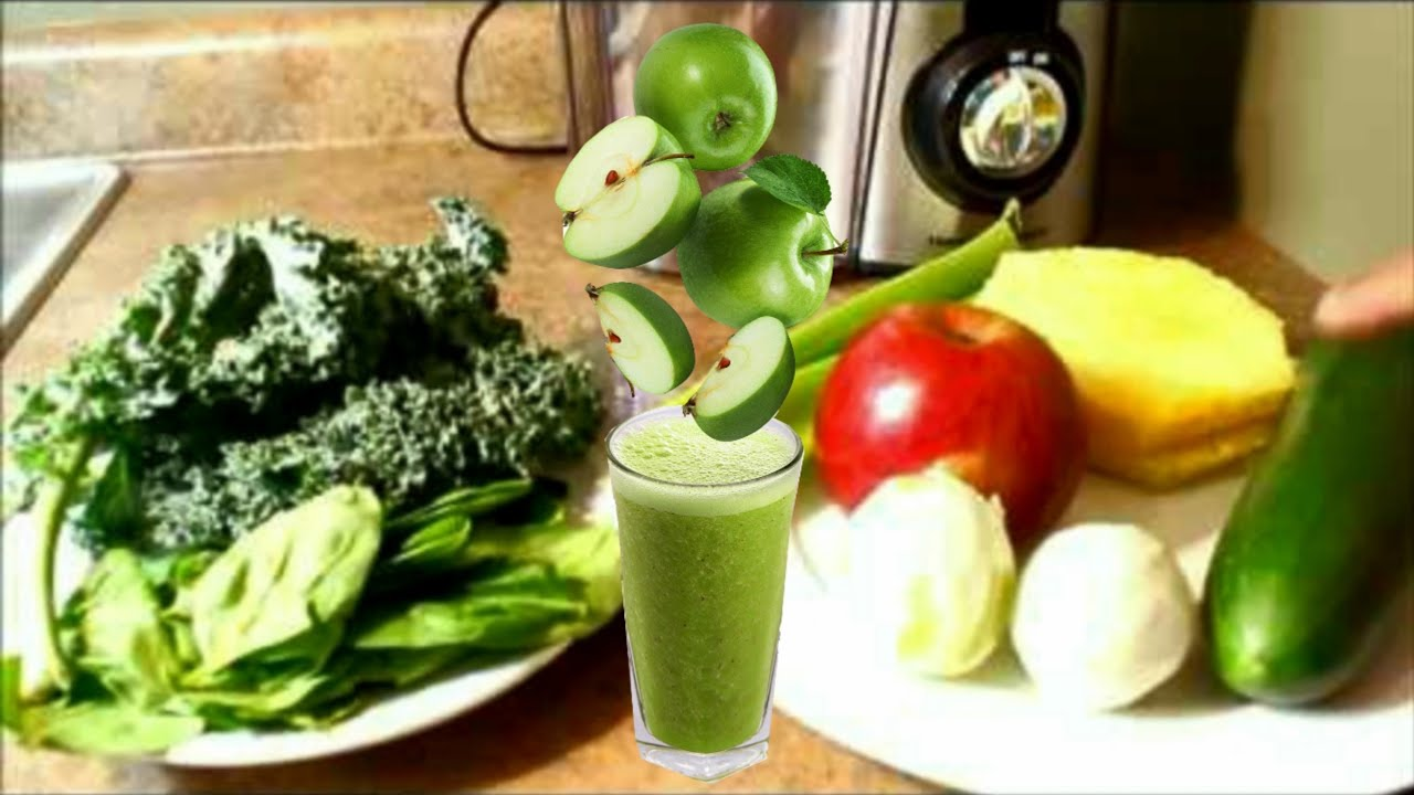 como hacer el jugo verde para bajar de peso