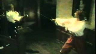 Tim Bentinck in swordfights from By The Sword Divided