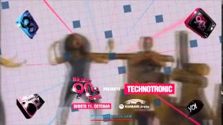 TECHNOTRONIC na The Best of 90s Festivalu (Kombank arena, 11. oktobra)
