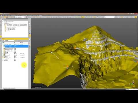 Trimble SX10 - 3D strip mining
