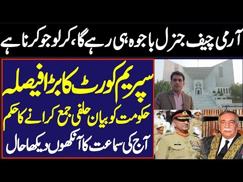 Imran Waseem: Breaking News: Supreme Court of Pakistan Today Decision On Army Chief's Extension