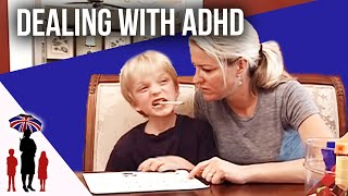 Reward System Helps Boy's ADHD | Supernanny