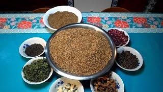 طريقة تحضير توابل راس الحانوت - خلطة التوابل التونسية - Cuisine Tunisienne - Ras el Hanout