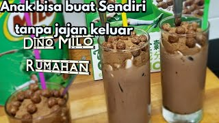 Video Membuat DINO MILO Hits ala McDonald.  Favorite Anak Anak. download MP3, 3GP, MP4, WEBM, AVI, FLV Maret 2018
