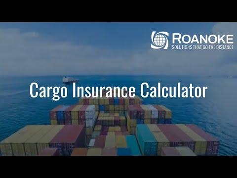 Cargo Insurance Calculator